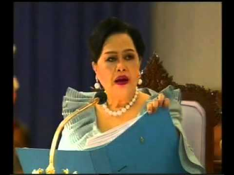 THAILAND NEWS: SPEECH OF HM.QUEEN SIRIKIT'S 77 th BIRTHADY  6/8