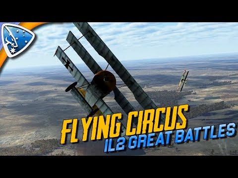 IL:2 Great Battles  Flying Circus – Volume I First Impressions