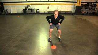 Off-Ice Hockey Training to Build Speed: Multi-Direction Sprints - Forward
