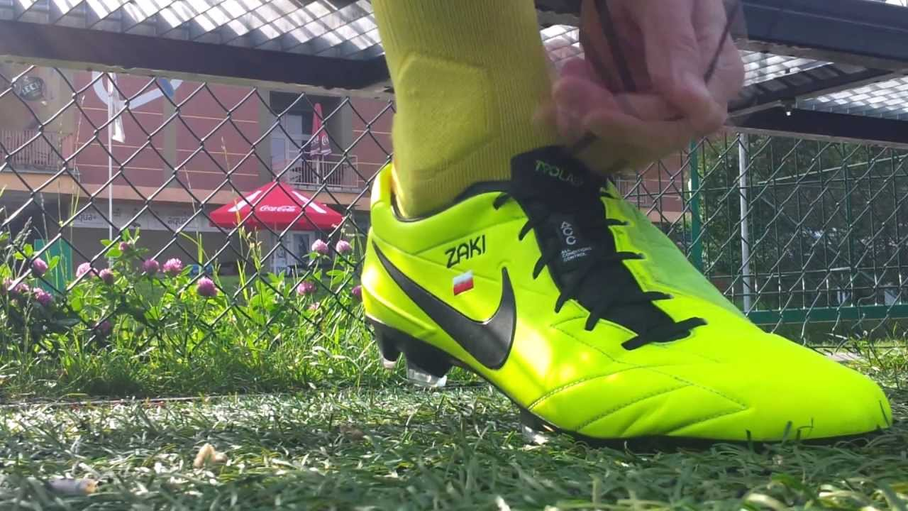 Nike T90 Laser IV black/volt Zaki playtest