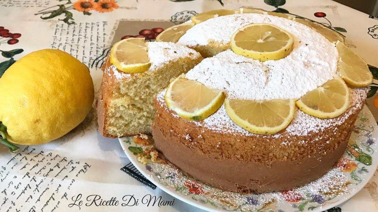 Torta Sofficissima Al Limone Senza Burro Ricetta Bimby Tm5 Soft