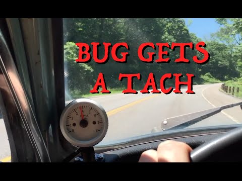 vw vdo tach wiring diagram installing a tachometer in the beetle youtube  installing a tachometer in the beetle