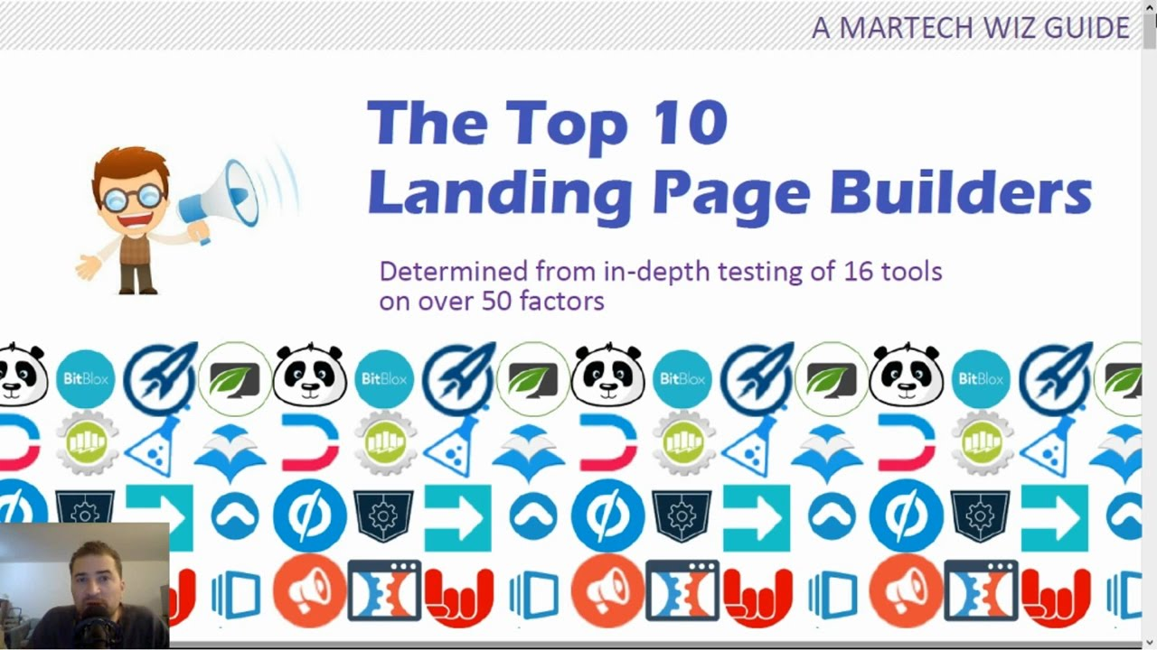 Top 10 Best Landing Page Builders - 2017 edition
