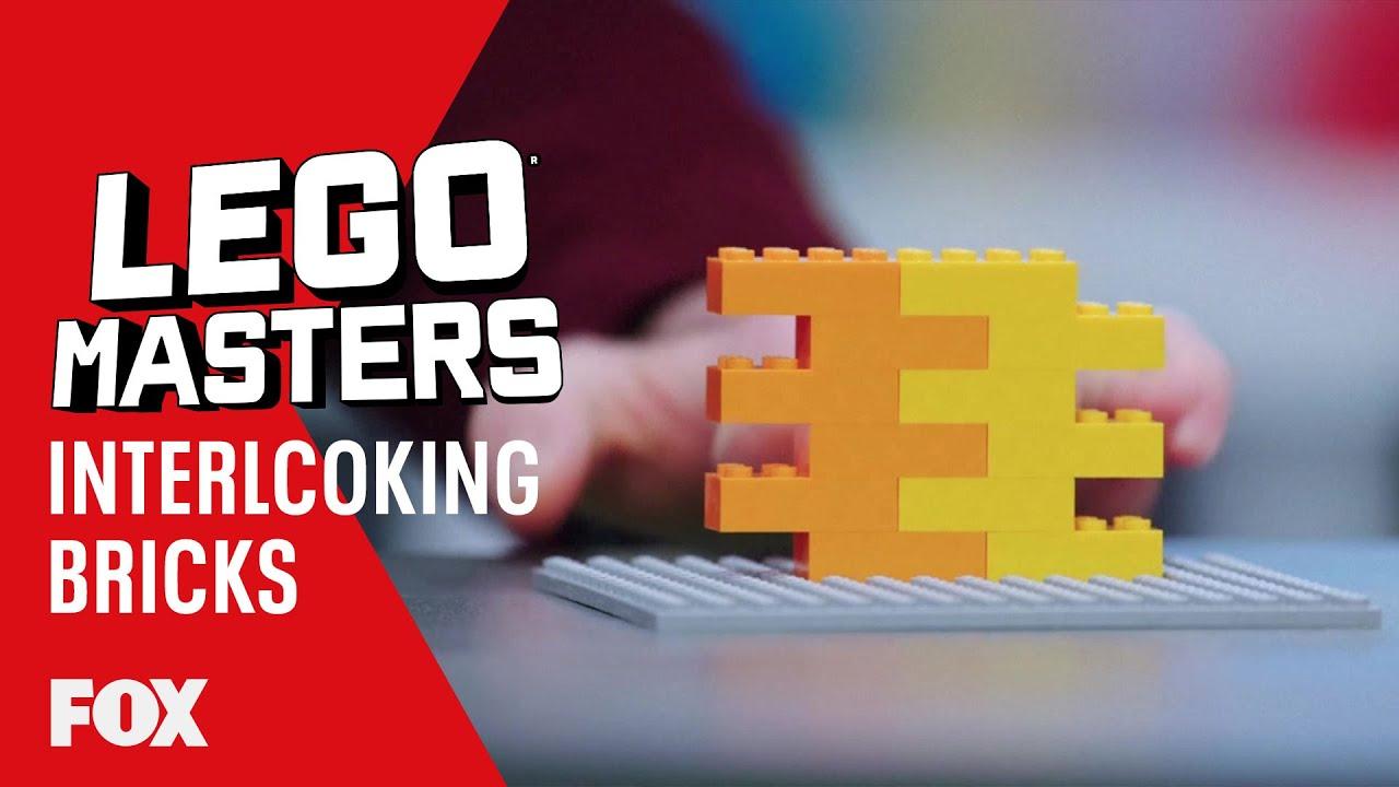 LEGO Learn: Interlocking Bricks | Season 2 Ep. 3 | LEGO MASTERS