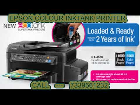 Epson Color Ink Tank Printers Sales in Madurai(7339561232)
