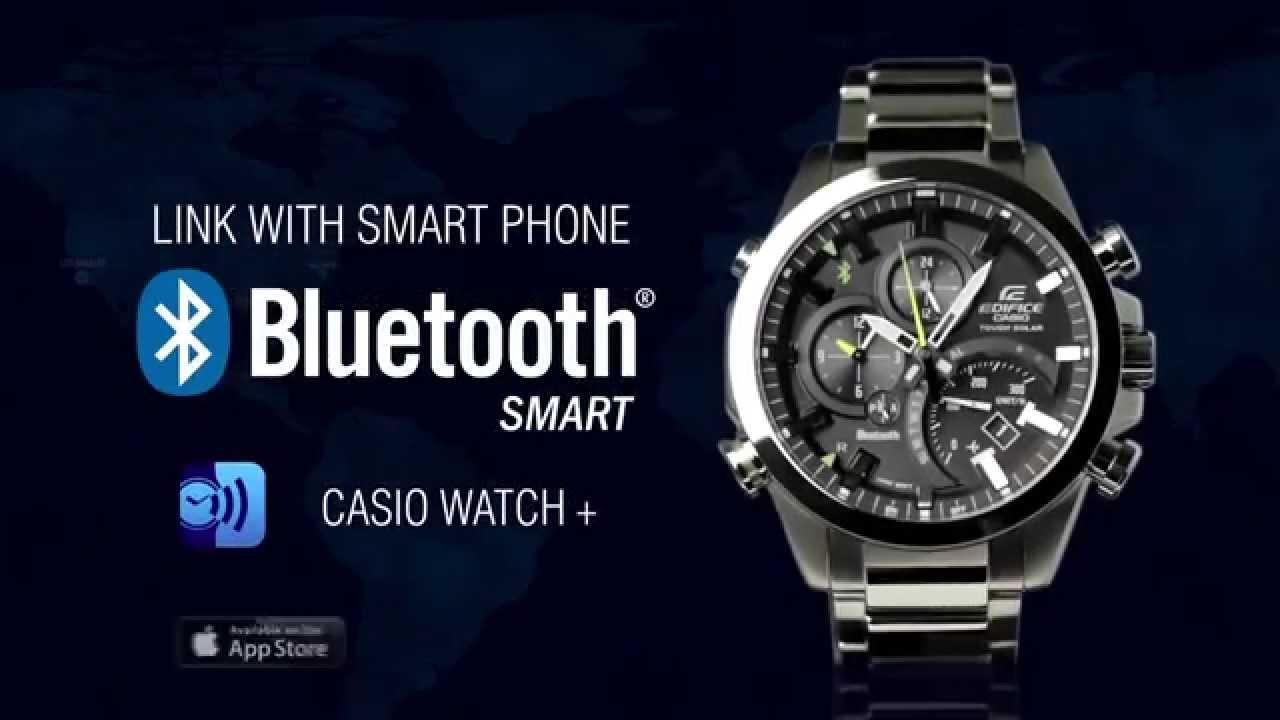 casio eqb 500 edifice bluetooth smart youtube. Black Bedroom Furniture Sets. Home Design Ideas