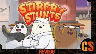 WE BARE BEARS: STIRFRY STUNTS - REVIEW (Video Game Video Review)