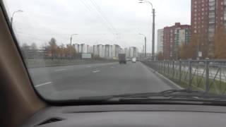 Урок автовождения на механике.