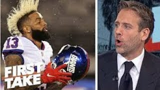 Giants owner John Mara wrong to criticize Odell Beckham Jr    Max Kellerman  First Take
