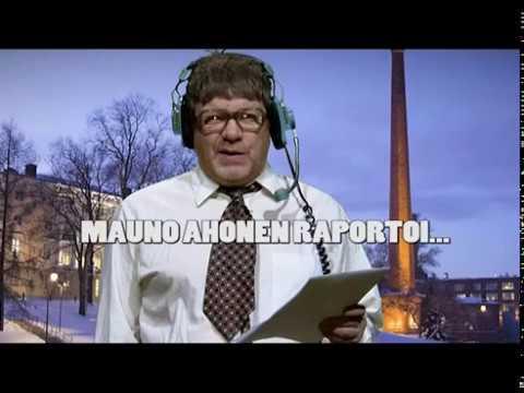Mauno Ahonen raportoi