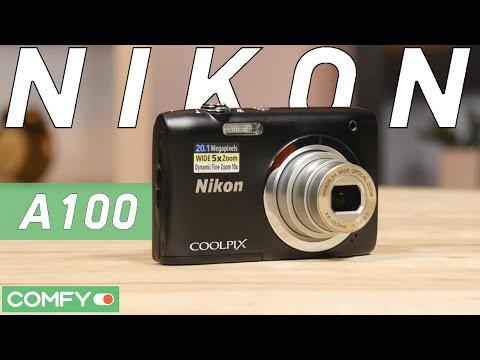 Nikon Coolpix A100 - реально компактная фотокамера - Видео демонстрация от Comfy.ua