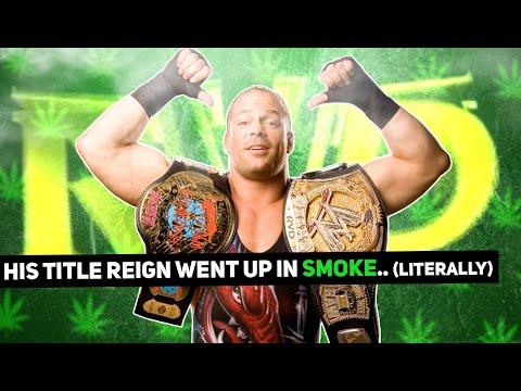 Rob Van Dam's Underwhelming WWE Title Reign