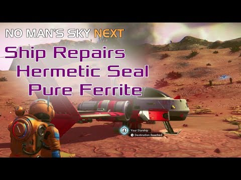 How to find hermetic seal in no mans sky