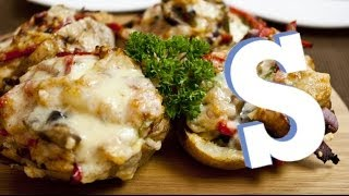 Stuffed Potato Skins Recipe - Sorted