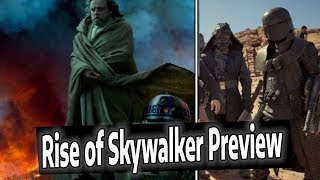 *NEW* STAR WARS EPISODE 9 RISE OF SKYWALKER PREVIEW & RUMORS