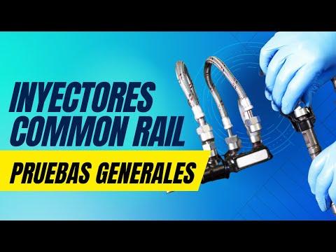Inyector Common Rail Prueba y Resultado