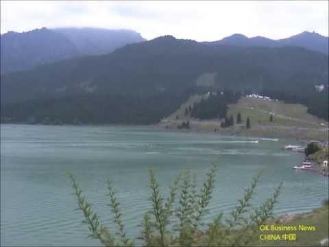 Ürümqi (Urumqi): Himmelssee (Tianchi-See) / Heaven Lake or Heavenly Lake (Tianchi Lake) / 乌鲁木齐市: 天池