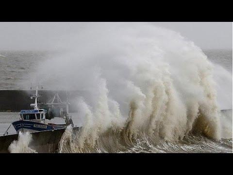 L'ouest de la France balayé par des vents violents