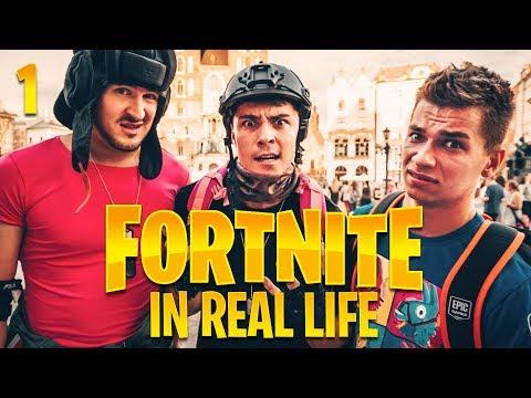 FORTNITE IN REAL LIFE ! w/ IZAK I FRIZ
