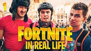 FORTNITE IN REAL LIFE ! w/ IZAK I FRIZ