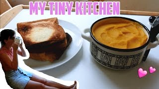 My Tiny Tokyo Kitchen - Pumpkin soup and Chats!