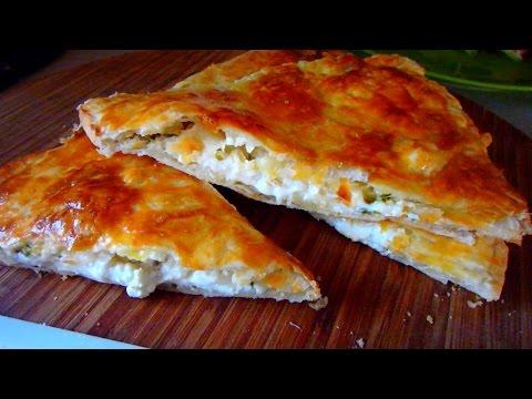 Вкуснейшие слойки с творогом и сыром а-ля хачапури