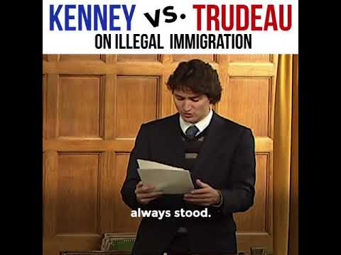 Jason Kenney vs Justin Trudeau