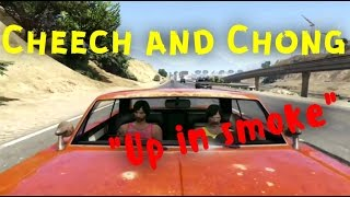Cheech and Chong up in smoke Gta5 online movie - rockstar editor