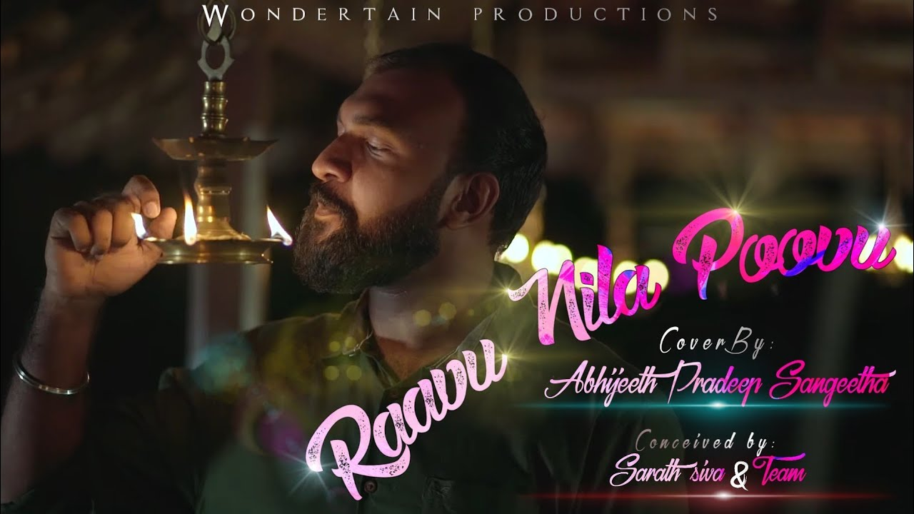 Download Raavu Nila Poovu | Cover | Sneham Movie | Abhijeeth Pradeep Sangeetha