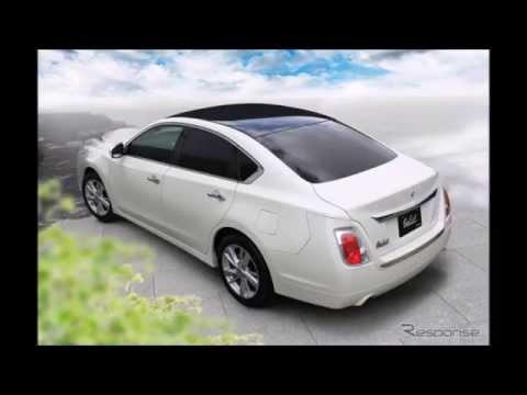 光岡 ガリュー 新型発表エクステリア刷新で我流を深化…ティアナ ベース車に