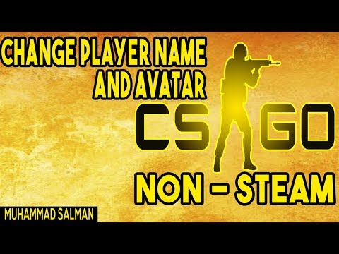 Change Player Name & Avatar In Counter Strike Global Offensive | Non-Steam |
