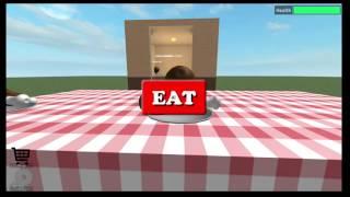 Ho vinto un concorso di mangiare pollo /ROBLOX