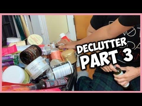 DECLUTTER NATURAL HAIR PRODUCT STASH | Part 3 thumbnail