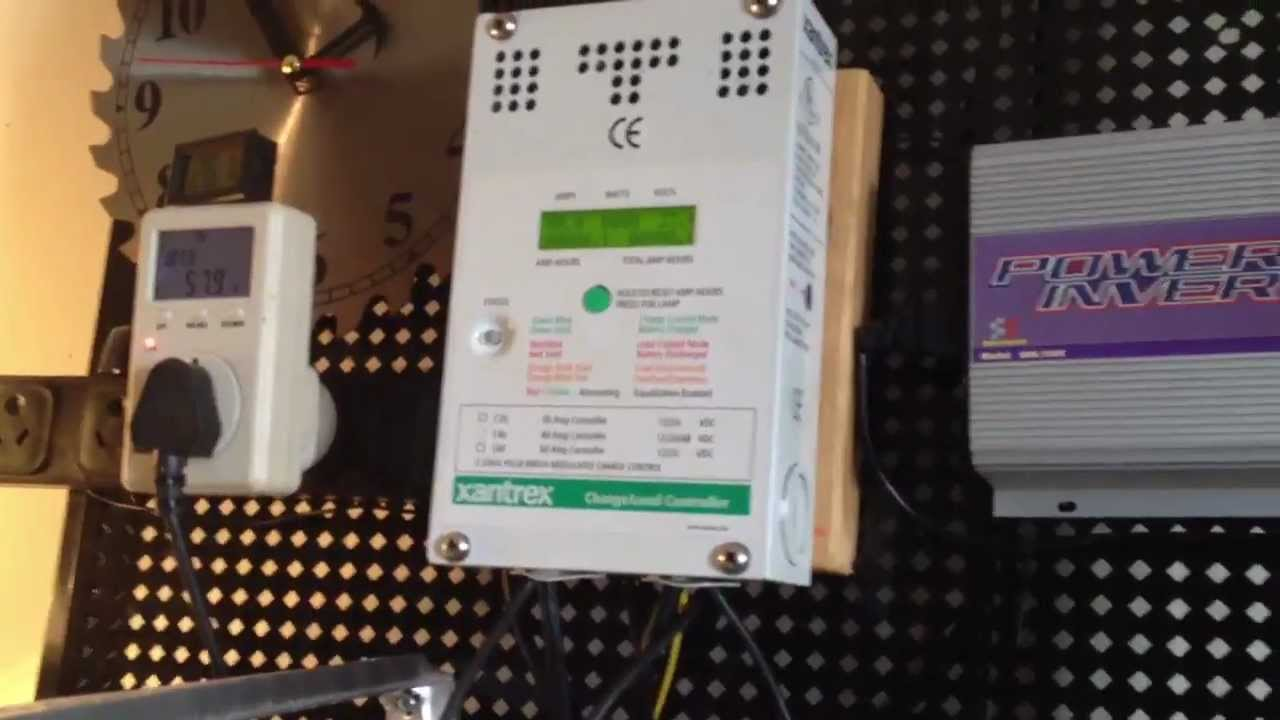 24v 12v solar panel system issue power drops when connected to charge controller [ 1280 x 720 Pixel ]