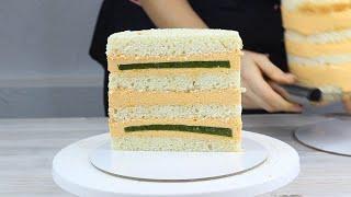 РЕШИЛА ПОПРОБОВАТЬ ТОРТ С НОВЫМ СОЧЕТАНИЕМ ВКУСОВ Торт с тропическим вкусом Начинка торта очень по