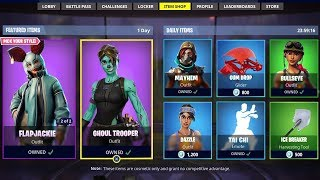 *NEW* FORTNITE ITEM SHOP LIVE! - August 19th - NEW SKINS! (Fortnite Battle Royale)