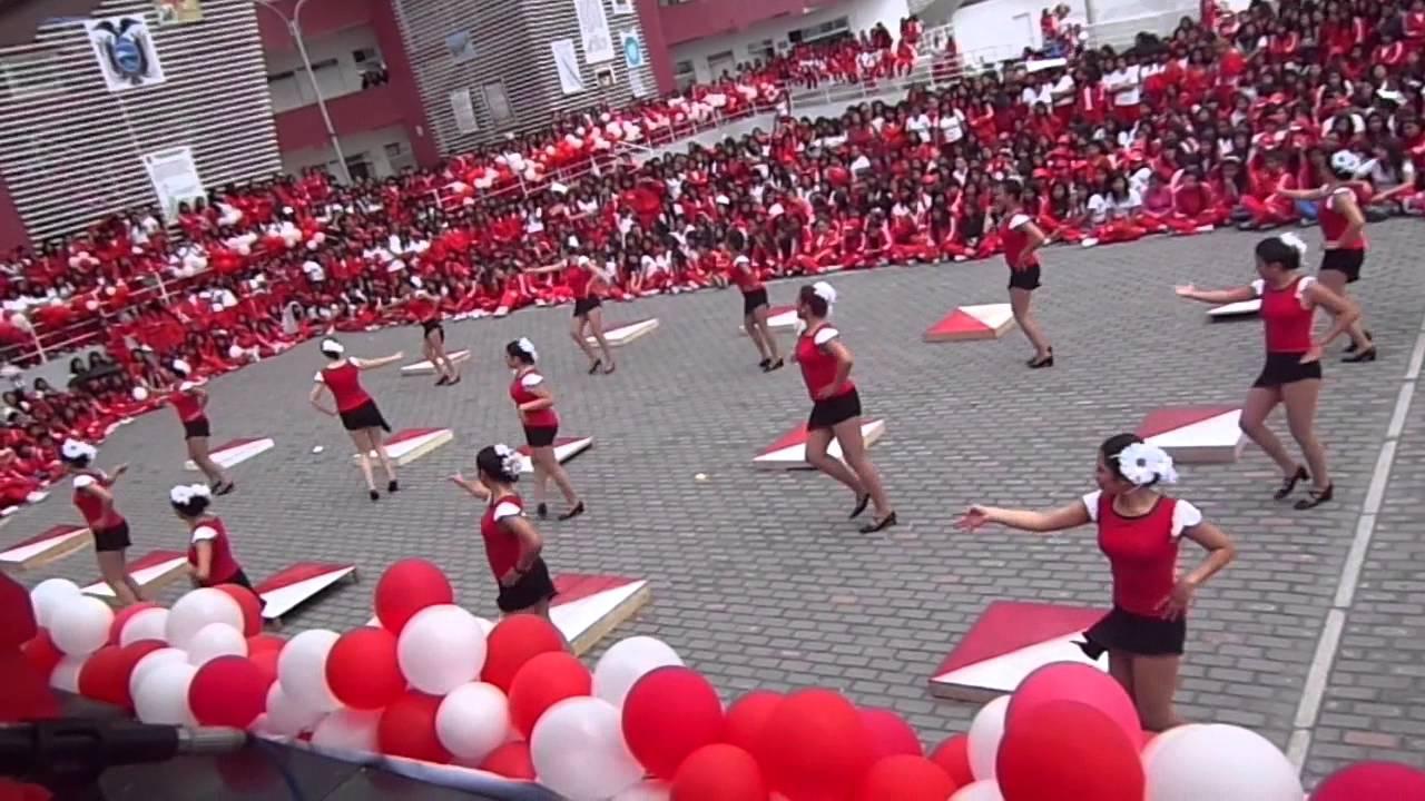colegio mar237a ang233lica idrobo grupo de danza youtube