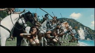 Amazon warriors battle German army