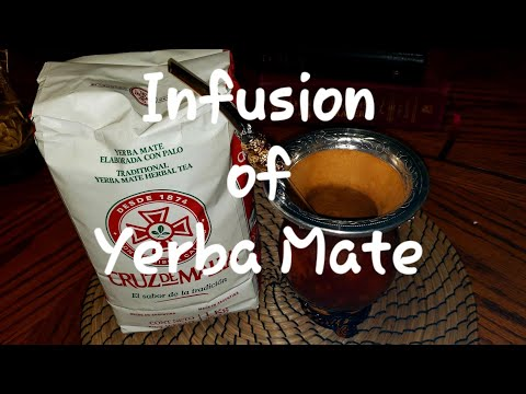 Infusion Of Yerba Mate