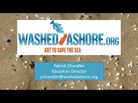 Washed Ashore: Combining art and science to raise awareness of marine plastic pollution
