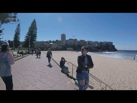 Manly Beach Walk from South to North