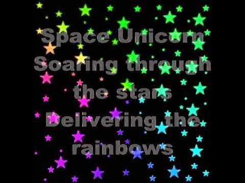 Space Unicorn (by Parry Gripp) with lyrics