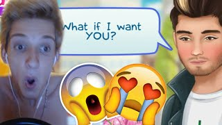 ZAYN MALIK DATING SIMULATOR! Flash Games!