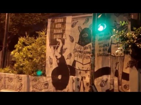 Dokumentasi IVAA : MERTHI KAMPUNG - FORUM STREET ART JOGJA & WARGA BAUSASRAN