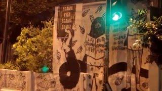 #DokumentasiIVAA : MERTHI KAMPUNG - FORUM STREET ART JOGJA & WARGA BAUSASRAN