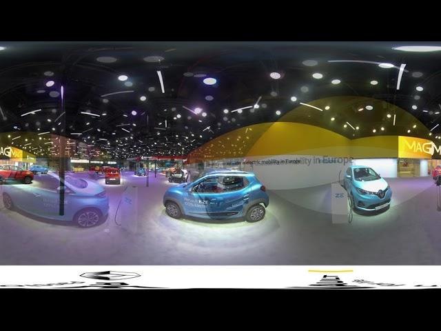 360° Virtual Walk-Through of Renault @ Auto Expo 2020