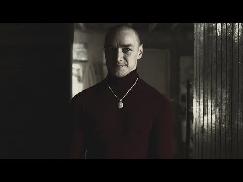 American film Split 2017. ''Patricia'' Актёрская игра Джеймса МакЭвоя