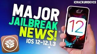 iOS 12.1.2 Jailbreak Update: MAJOR iOS 12 NEWS! 🥳 🤯