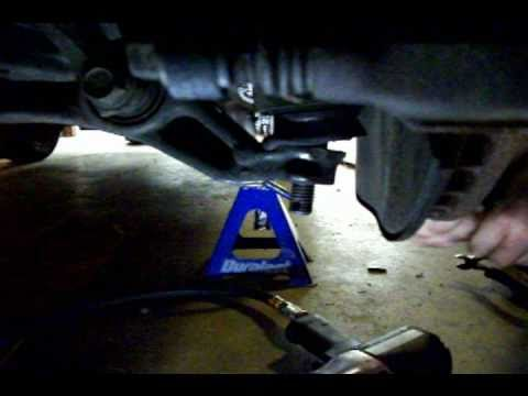 How to Remove Transmission Honda Accord 90-02 - YouTube