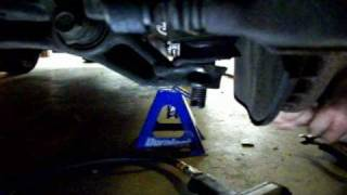 how to remove transmission honda accord 90 02